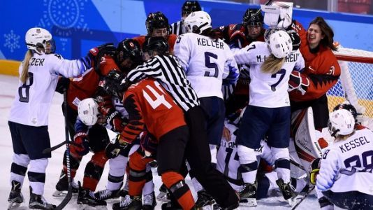 U.S. Women's Hockey Team Faces Canada In Gold Medal Final