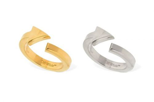 Off-White™ Celebrates Its Arrow Logo With a New Ring