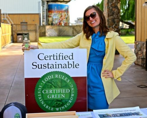 Wines bearing Certified Green seals shine at LODI RULES Spring Party