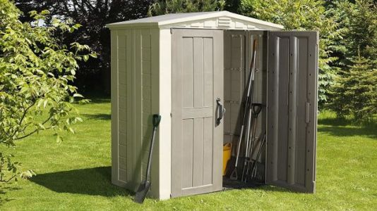Empty Your Garage By Filling This Discounted Storage Shed