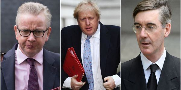 Tory MPs reportedly want a Brexit 'dream team' of Boris Johnson, Michael Gove, and Jacob Rees-Mogg to overthrow Theresa May
