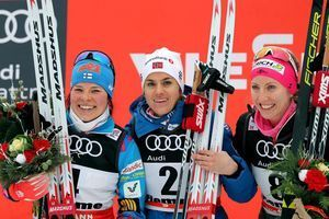 Poltoranin, Weng win mass start races in Tour de Ski