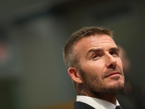 David Beckham cut his own hair - and now he's offering to do Josh Brolin's at a family discount