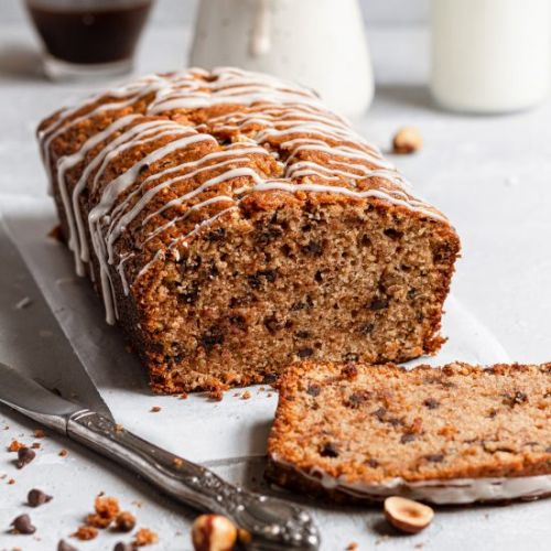 Chocolate Chips Hazelnut Bread