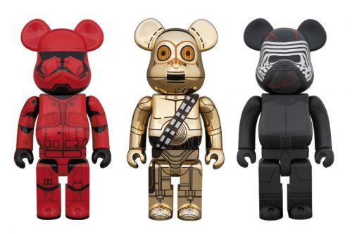 Medicom Unearths 'Star Wars' C-3PO, Sith Trooper and Kylo Ren BE RBRICKs