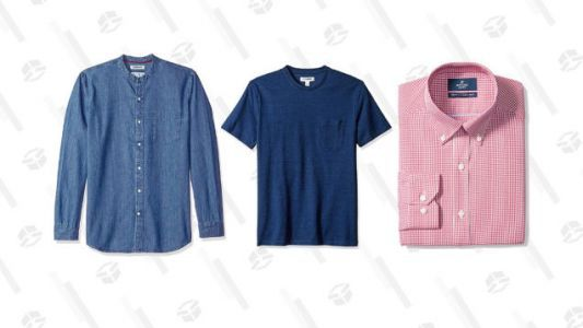 Amazon's Running A Big Sale On Men's Clothing from Their Brands