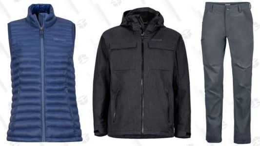 Take Up to 50% Off Marmot's Past Season Styles, Which You Can Still Wear This Season