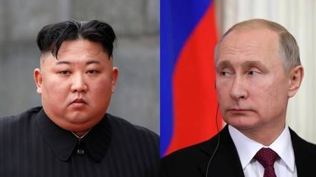 Putin arrives for historic meeting with Kim in Russia's Far East