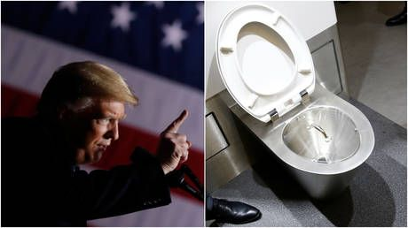 'People are flushing toilets 10 times': Trump mulls pouring conservation rules down the drain & Twitter cannot hold it