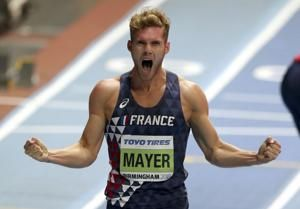 Mayer sets decathlon WR after Kipchoge runs fastest marathon