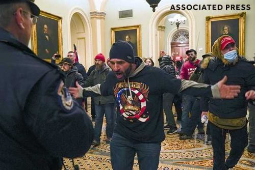Iowa man seen rioting at US Capitol appears in court on federal charges