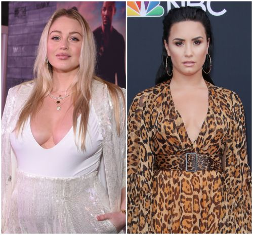 Iskra Lawrence Gushes Over 'Amazing' Demi Lovato After She Pledges $125,000 to COVID-19 Efforts