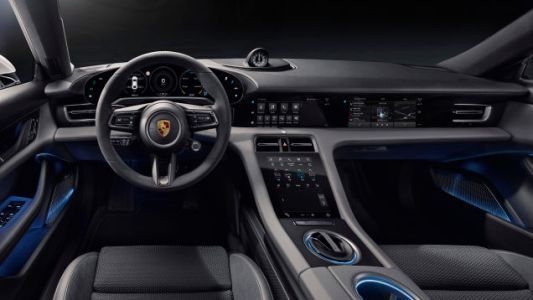 The Electric Porsche Taycan Packs Five Screens And One Is Just For The Passenger