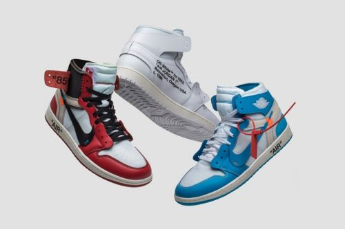GOAT Is Giving Away All Three Pairs of the Virgil Abloh x Nike Air Jordan 1