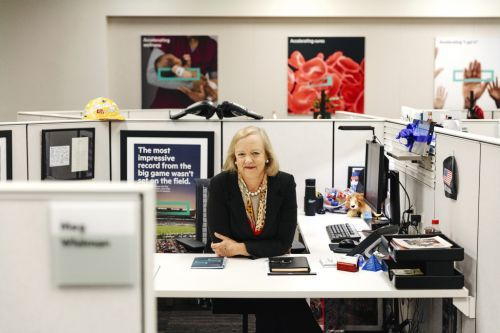 HPE's Meg Whitman Won't Be Uber's CEO. But She Could Be the First Female President
