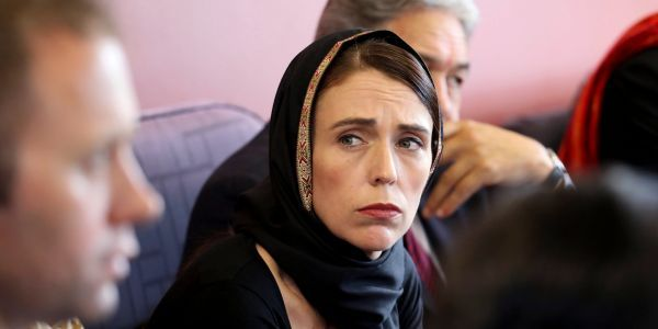 New Zealand's prime minister calls for a global fight against racism and an end to scapegoating immigrants after mass shooting