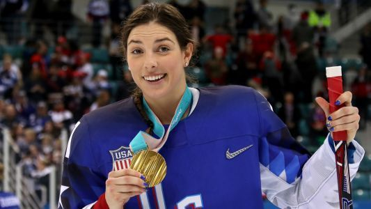 Hilary Knight talks life after Olympic gold, 'One League' movement, hanging with SNL cast