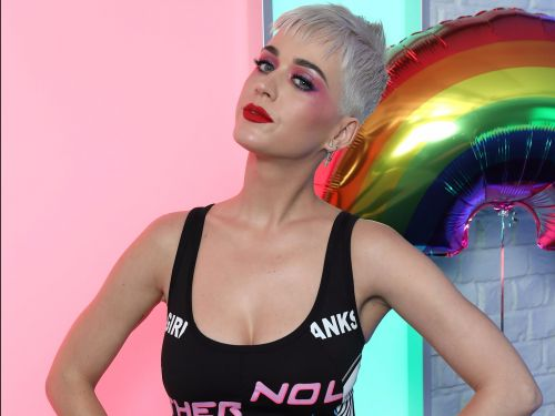 Katy Perry just dyed her pixie cut 'blueberry crush,' and it's her most exciting look yet