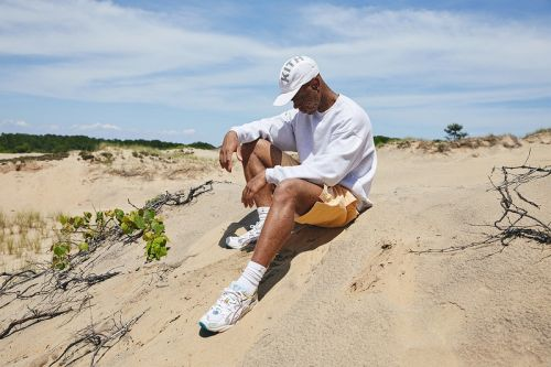 """KITH Spotlights Upcoming """"Oasis"""" Capsule Collection & Collaborative ASICS in Beach-Side Campaign"""