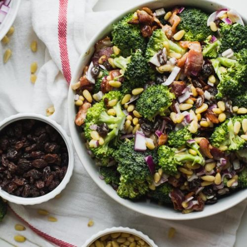Paleo Summer Broccoli Salad