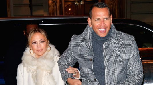 Date Night! Jennifer Lopez Flashes Engagement Ring While Out With Alex Rodriguez in NYC