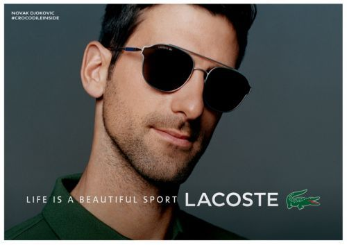 Lacoste Unveils Novak Djokovic Sunglasses Collection