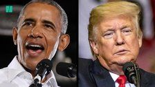 Barack Obama Goes After President Trump