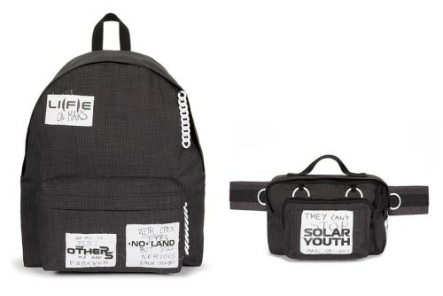Raf Simons' FW20 Eastpak Collaboration Features Punk Patches and Chains