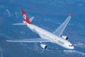 Direct Turkish Airlines flight London - Ankara