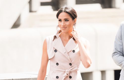 Meghan Markle Wore a Thing: Nonie Trench Coat Dress Edition