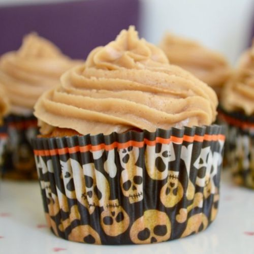 Pumpkin Spiced Latte Cupcakes