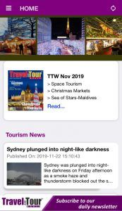 Travel And Tour World unveils new version of the mobile app for readers