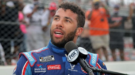 Bubba Wallace thinks Donald Trump has bigger issues than NASCAR to worry about