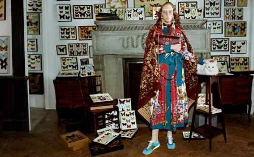 Gucci goes vintage for new campaign