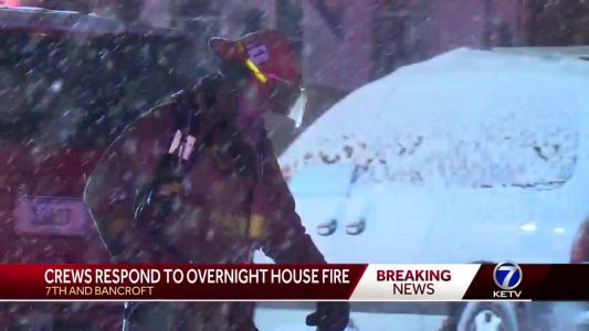 Snow impacts responses for firefighters