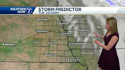 Clouds move out Tuesday morning, warmer Wednesday