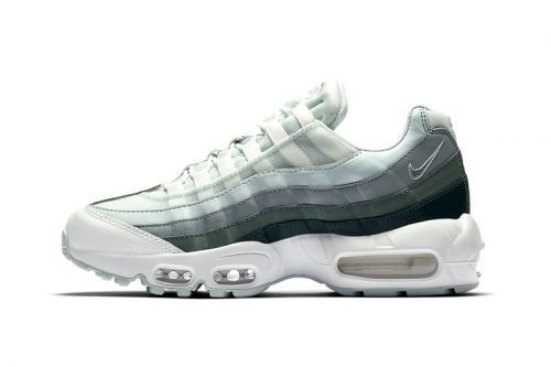 Nike's Air Max 95 Takes on a New Green/Grey Gradient Color Scheme