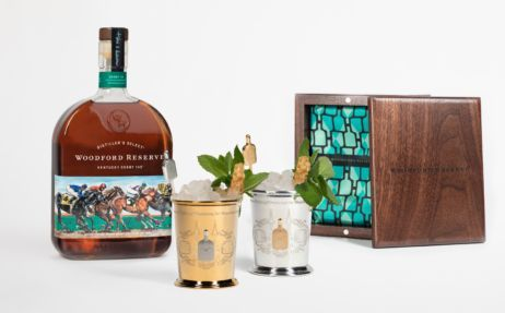Woodford Reserve Introduces $1,000 Mint Julep Cup for the Kentucky Derby
