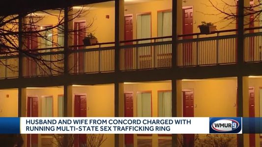 Concord couple accused of running multistate sex-trafficking ring