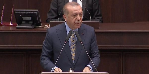 Turkish president calls for Saudi Arabia to hand over the 18 men involved in Khashoggi's killing to stand trial