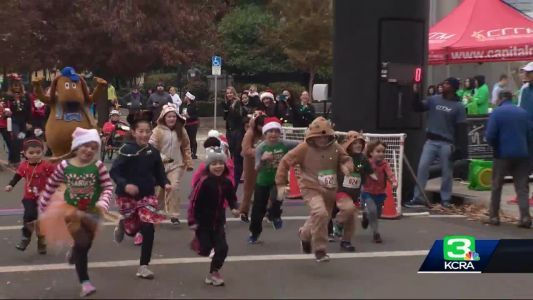 Meet the 6-year-old ambassador of the Sacramento Jingle Bell Run