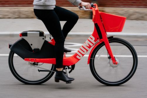 Uber acquires electric bicycle-sharing startup Jump Bikes
