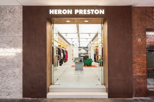 Go Inside Heron Preston's First-Ever Flagship Store