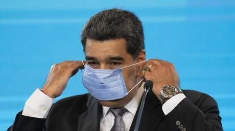 Venezuelan President Maduro gets first shot of Russia's Sputnik-V vaccine
