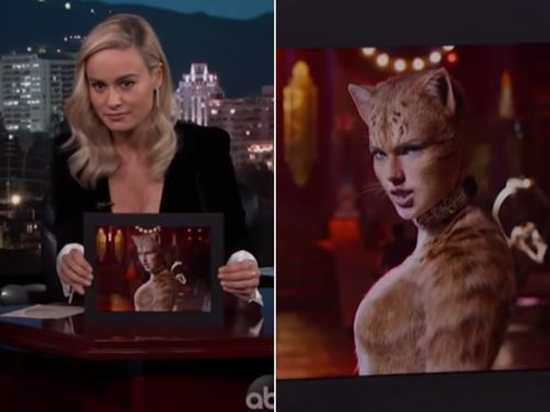 Brie Larson said 'Cats' looks like 'a dream you would have if you smoked meth in a P