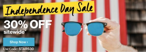 Grab Some New Shades For Under $10 With Sunglass Warehouse's Independence Day Sale