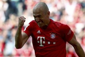 Bayern Munich wins record 7th straight Bundesliga title