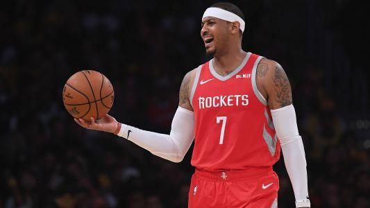 Carmelo Anthony parts ways with Rockets, report says