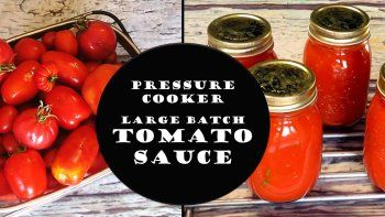 New Video: Sauce from FRESH Tomatoes!