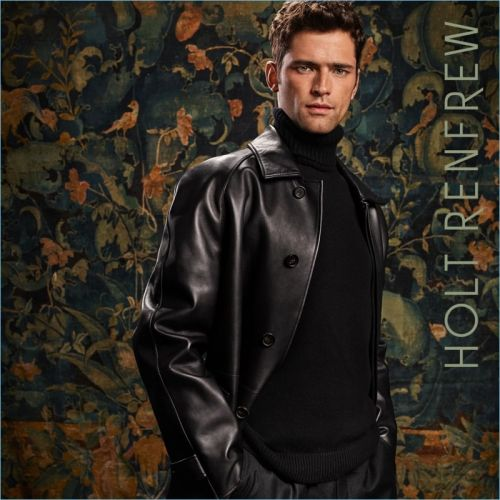 Sean O'Pry & Simon Nessman Front Holt Renfrew Fall '18 Campaign